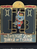 Twilight Zone Tower of Terror Stitch Elevator Pin