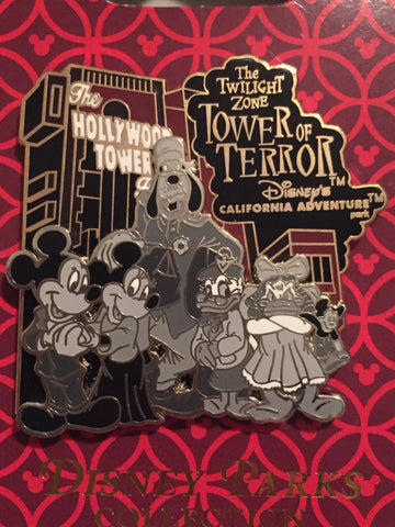Disney's California Adventure Tower of Terror Pin