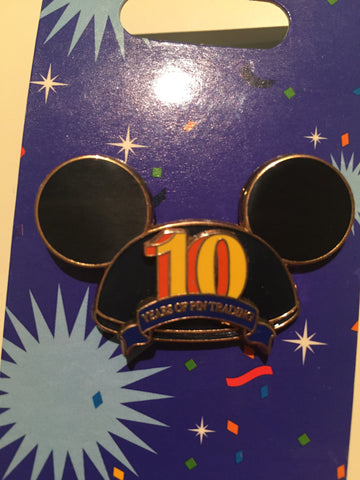 10 Years of Pin Trading Mickey Ears Pin