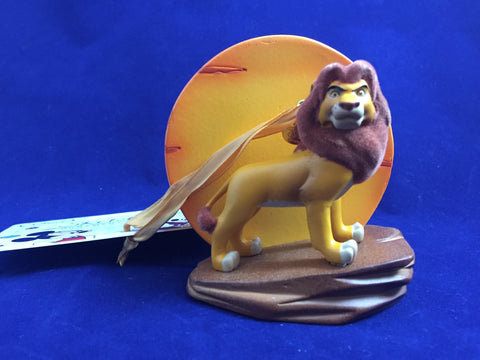 Simba The Lion King 20th Anniversary Disney Store 2014 Sketchbook Ornament