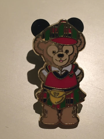 Duffy in Scottish Costume Hong Kong Disneyland Pin