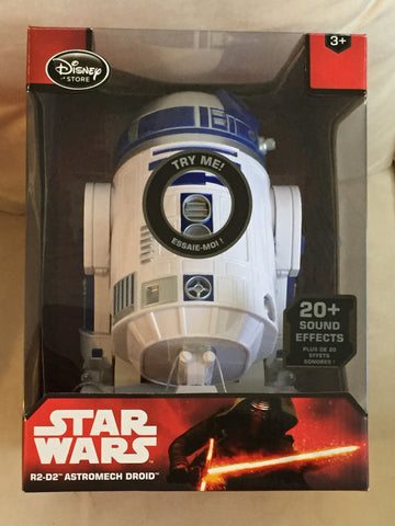 R2D2 Astromech Droid Disney Store Force Awakens [free ship]