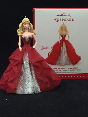 Holiday Barbie (1st in Series) Hallmark Holiday Ornament