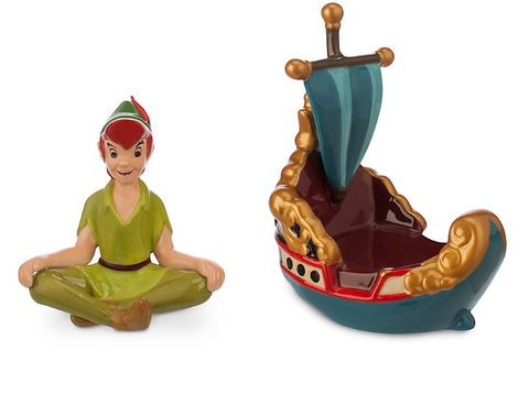 Peter Pan's Flight Salt & Pepper Shaker Set