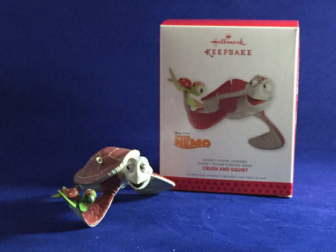 Crush & Squirt (Finding Nemo) Hallmark Holiday Ornament