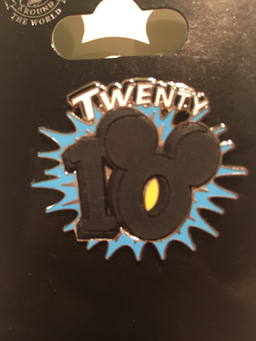 2010 Mickey Ears Logo Pin