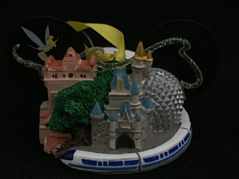 Walt Disney World Icons Mickey Ears Holiday Ornament