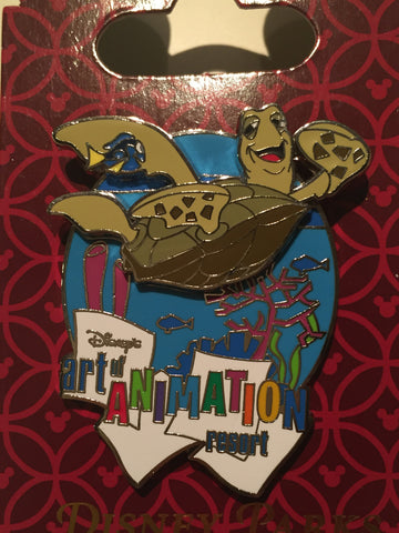Art of Animation Crush (Finding Nemo) WDW Resort Pin