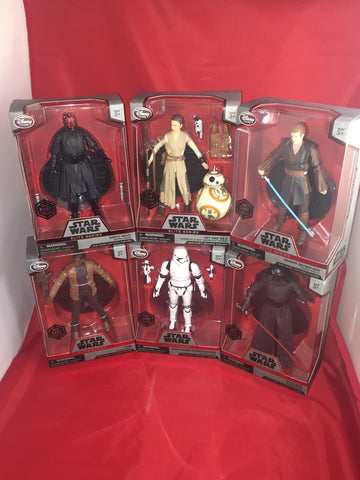 Star Wars: The Force Awakens Elite Series Die Cast Action Figures