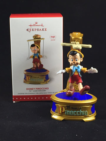 Pinocchio 75th Anniversary Hallmark Ornament