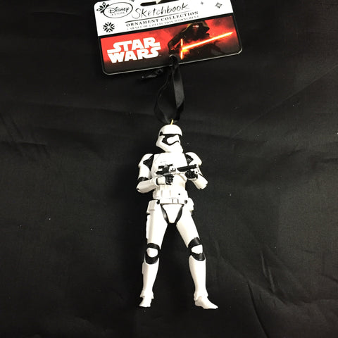 Star Wars Stormtrooper Holiday Sketchbook Ornament