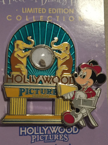 "Piece of Disney History - Hollywood Pictures Limited Edition Pin ""AS IS"""