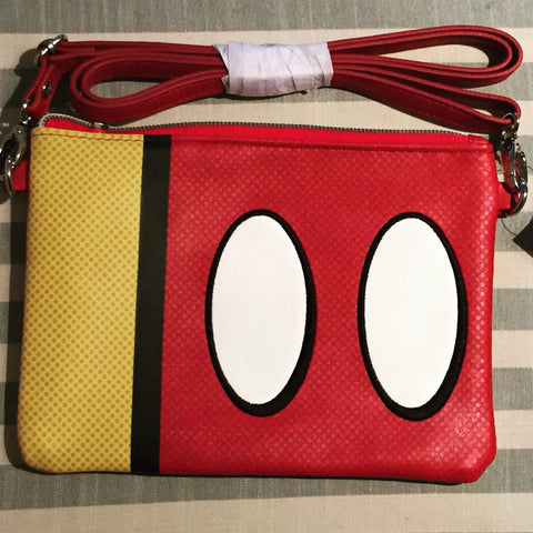 Mickey Mouse Favorite Parts Crossbody Purse Bag [free ship]