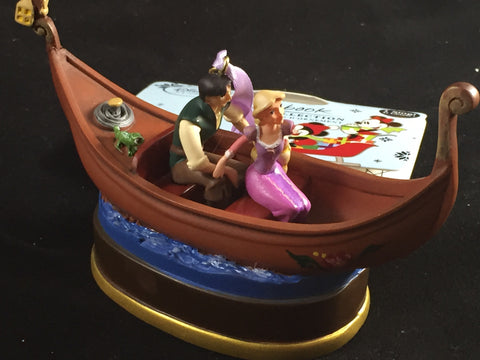 Rapunzel & Flynn Rider Tangled Musical Holiday Ornament