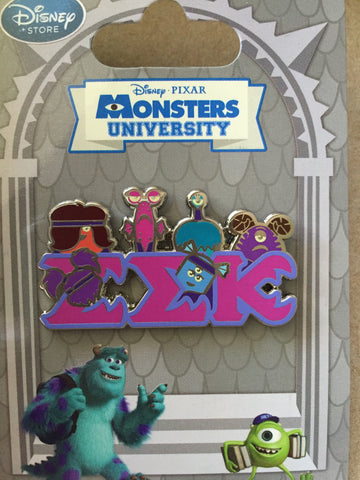 Monsters University EEK sorority pin