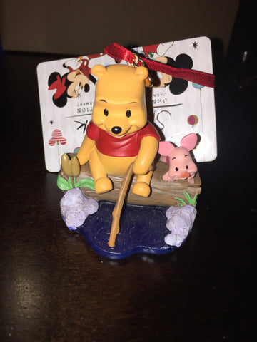 Winnie the Pooh & Piglet Sketchbook Holiday Ornament