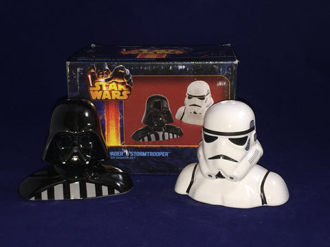 Darth Vader & Stormtrooper Star Wars Salt & Pepper Shaker Set