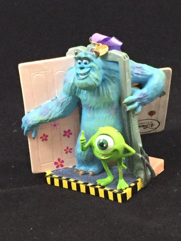 Monster's Inc- Sully Mike Scare Floor Holiday Ornament