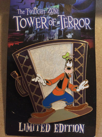 Tower of Terror Goofy Limited Edition Pin