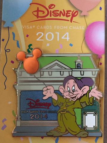 Chase Disney Visa Card Exclusive Dopey Pin