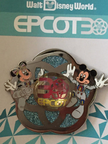 Epcot 30th Anniversary Mickey & Minnie Annual Passholder Pin
