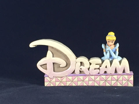 Jim Shore Cinderella Dream Plaque