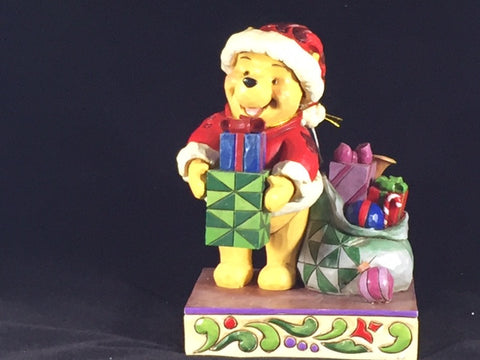 Presents From Pooh Jim Shore Holiday Figure