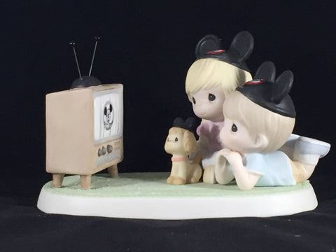 Precious Moments ''Y, Because We Like You'' Mousketeer Figurine