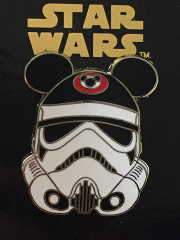 Star Wars Stormtrooper with Mickey Ears Pin