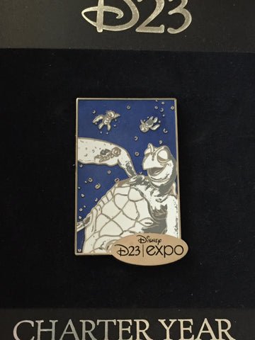 Crush D23 Charter Year Expo Pin