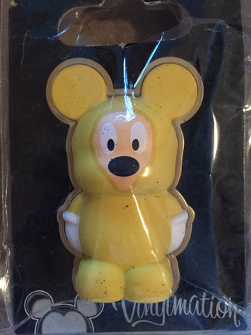 Mickey Yellow Poncho Vinylmation 3-D Pin