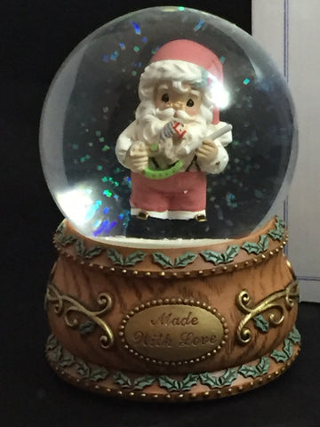 Precious Moments Made With Love Holiday Snowglobe