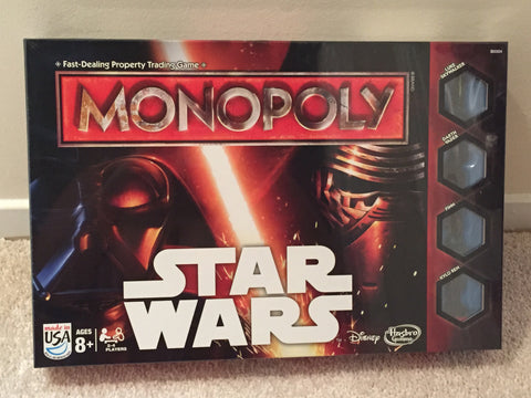 Star Wars Monopoly Board Game (The Force Awakens Release)