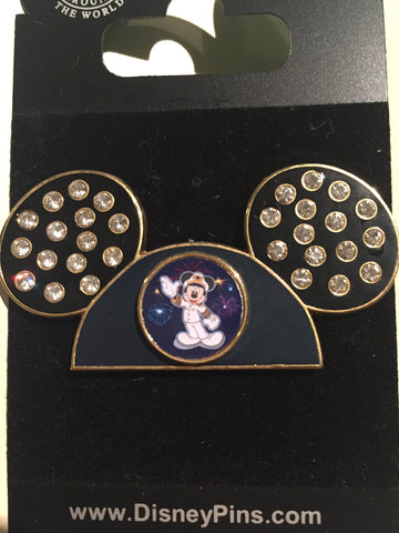 Disney Cruise Line Captain Mickey Jeweled Ears Pin