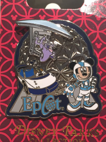 Epcot Attractions Pin