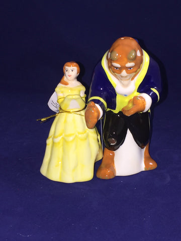 Ballroom Belle & Beast (Beauty and the Beast) Salt & Pepper Shakers Set