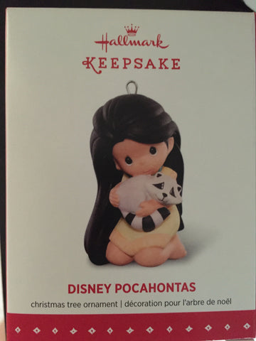 Pocahontas Precious Moments Limited Edition Holiday Ornament