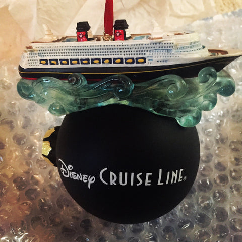 Disney Cruise Line Bubble Ship Ornament [free ship]