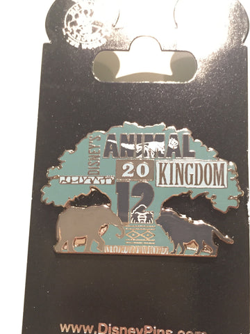 Animal Kingdom 2012 Tree of Life Icon Pin