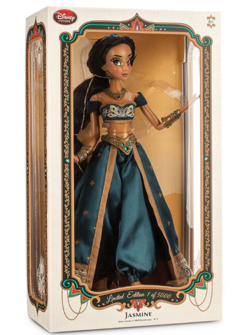"Jasmine (Aladdin) Limited Edition of 5000 17"" Doll"