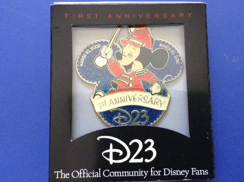 D23 First Anniversary Celebration Limited Release Jumbo Pin