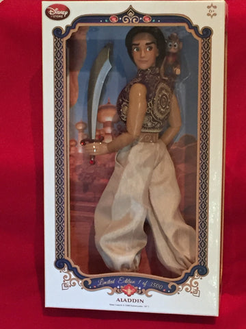 Aladdin Limited Edition 3500 Disney Store Doll
