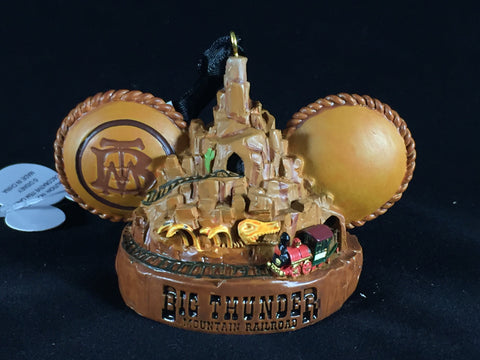 Big Thunder Mountain Railroad Ears Hat Holiday Ornament