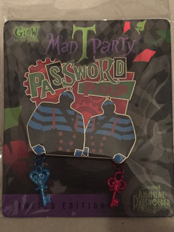 Mad T Party Password Please Limited Edition Pin