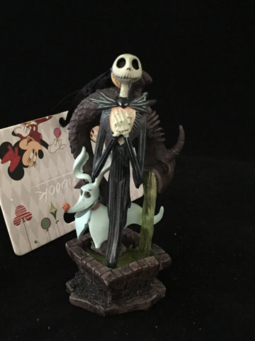 Jack & Zero Nightmare Before Christmas Sketchbook Holiday Ornament