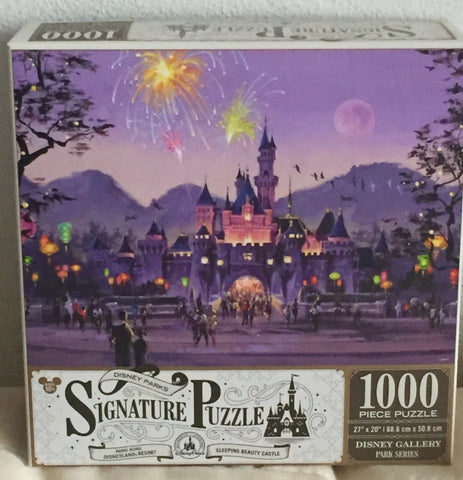 Hong Kong Disneyland Castle Signature 1000 piece Puzzle