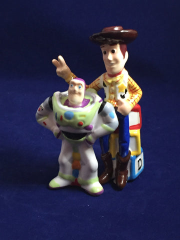 Buzz Lightyear & Woody Toy Story Salt & Pepper Shakers Set