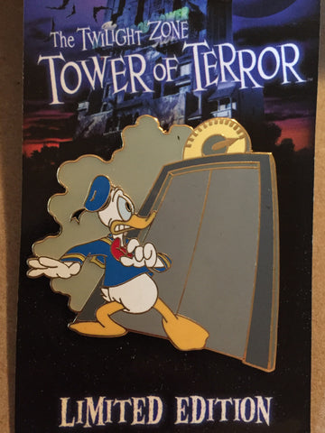 Tower of Terror Donald Duck Limited Edition Pin