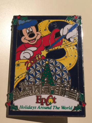 Holidays Around the World Epcot Pin (Limited)