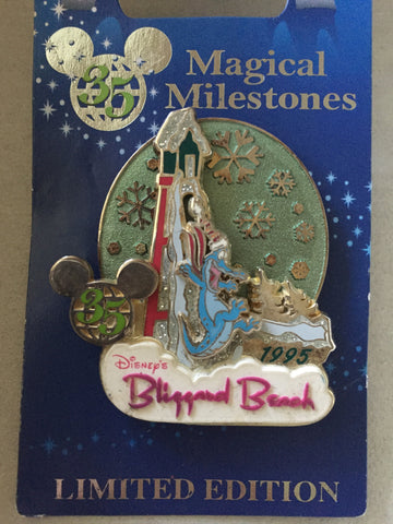 35 Magical Years: Blizzard Beach Limited Edition Pin